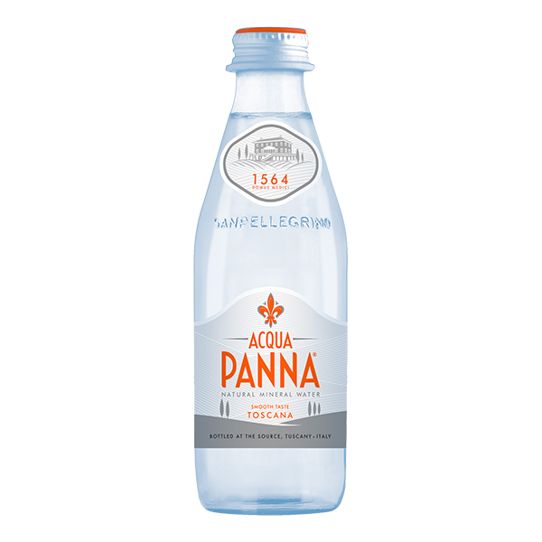 botella de agua Acqua Panna 250 ml