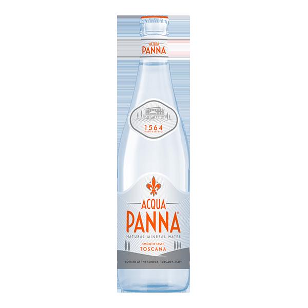 botella de agua Acqua Panna 505 ml