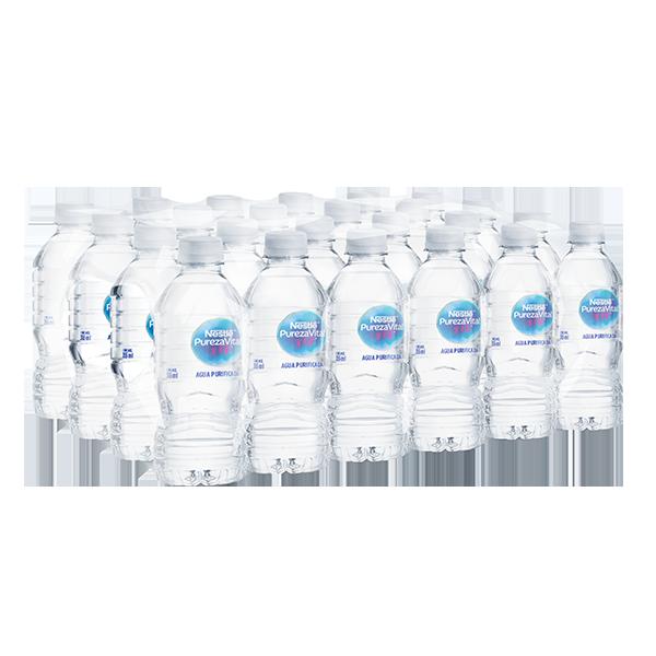 paquete de agua Nestlé Pureza Vital con 24 botellas de 355 ml c/u