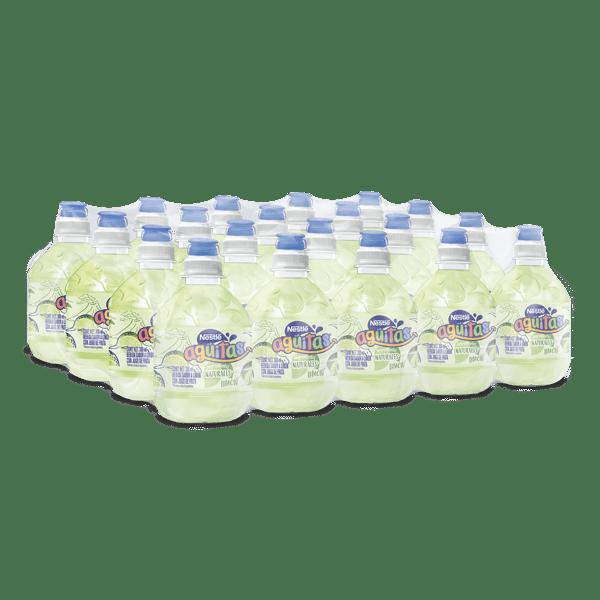 paquete de Nestlé Agüitas limón con 20 botellas de 300 ml c/u