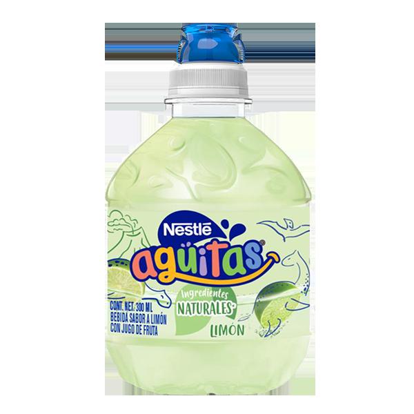 botella de Nestlé Agüitas limón de 300 ml
