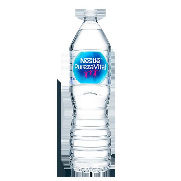 botella de agua Nestlé Pureza Vital de 1.5 L
