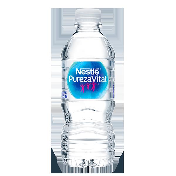 botella de agua Nestlé Pureza Vital de 355 ml
