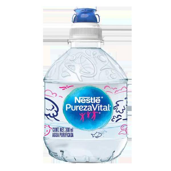 botella de Nestlé Pureza vital de 300 ml