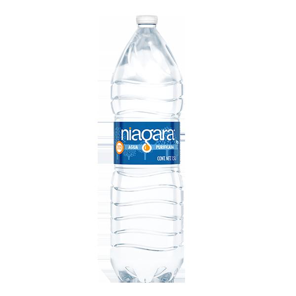 botella de agua Niagara de 1.5 L