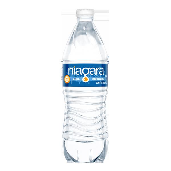 botella de agua Niagara de 500 ml