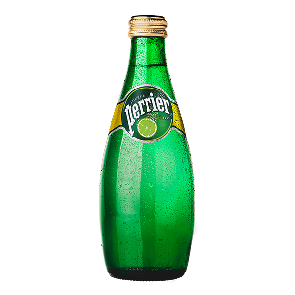 botella de agua Perrier Limón de 330 ml