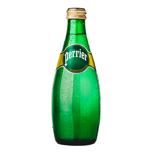 botella de agua Perrier de 330 ml