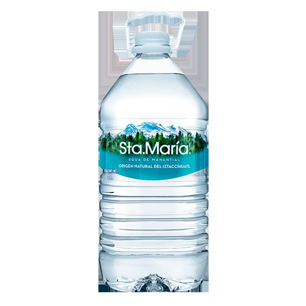 galón de agua Santa María de 4 L