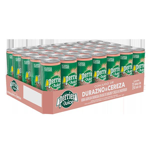 Perrie & Juice 250 ml Durazno & Cereza x 35